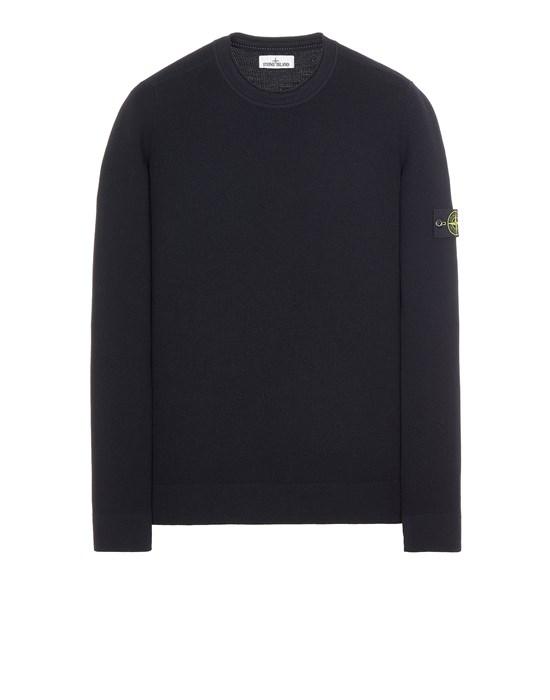 Sweater Man 560C2 FULL RIB PURE WOOL Front STONE ISLAND