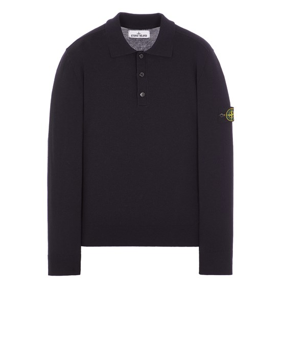 Sweater Man 512A1 STRETCH WOOL Front STONE ISLAND