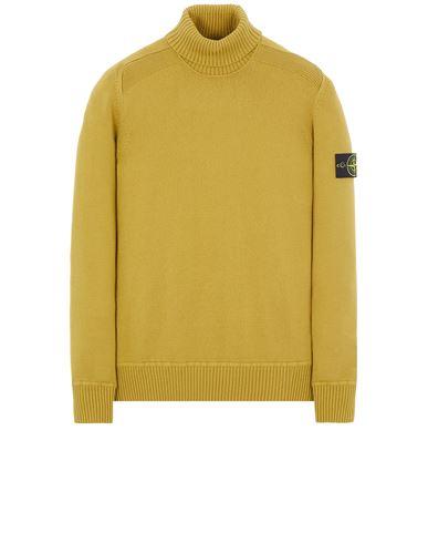 STONE ISLAND 542A2  WINTER COTTON Sweater Man Dark Beige EUR 316