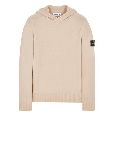 STONE ISLAND 530A3 LAMBSWOOL Sweater Man Pastel pink USD 447