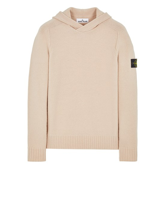 Sweater Man 530A3 LAMBSWOOL Front STONE ISLAND