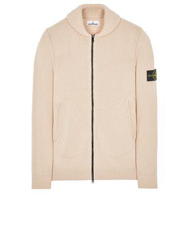 STONE ISLAND 502A7 COMFORT WOOL-COTTON Sweater Man Pastel pink USD 407