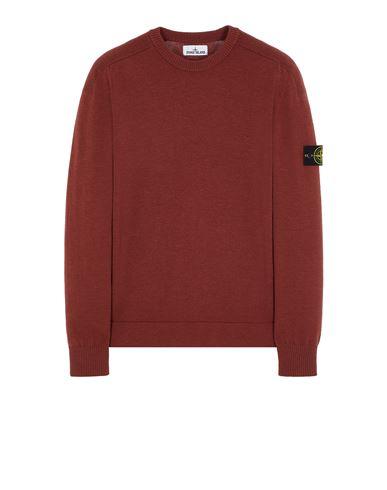 STONE ISLAND 508A1 STRETCH WOOL Sweater Man Brick red EUR 279