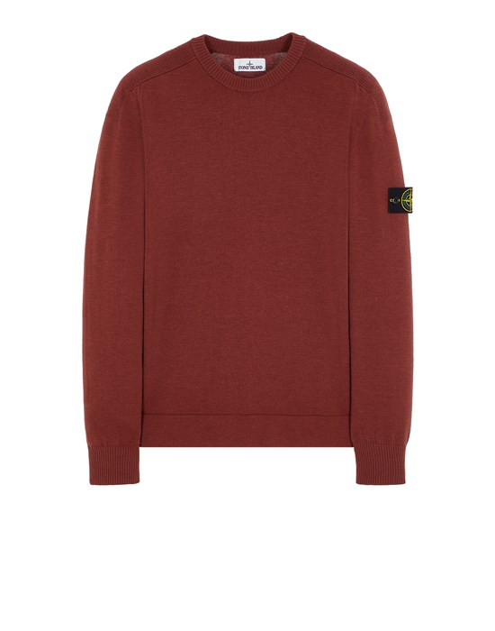 Sweater Man 508A1 STRETCH WOOL Front STONE ISLAND