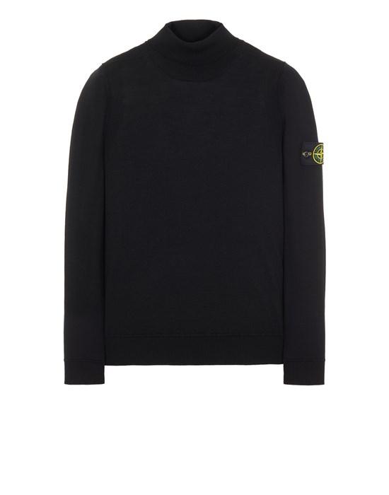 Sweater Man 527C4 LIGHT PURE WOOL Front STONE ISLAND