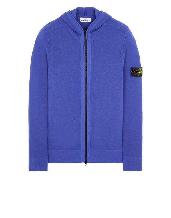 Sweater Man 566C2 FULL RIB PURE WOOL Front STONE ISLAND
