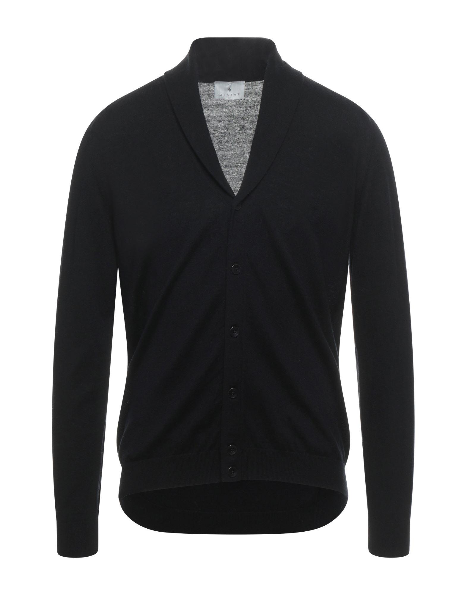Diktat Cardigans In Black