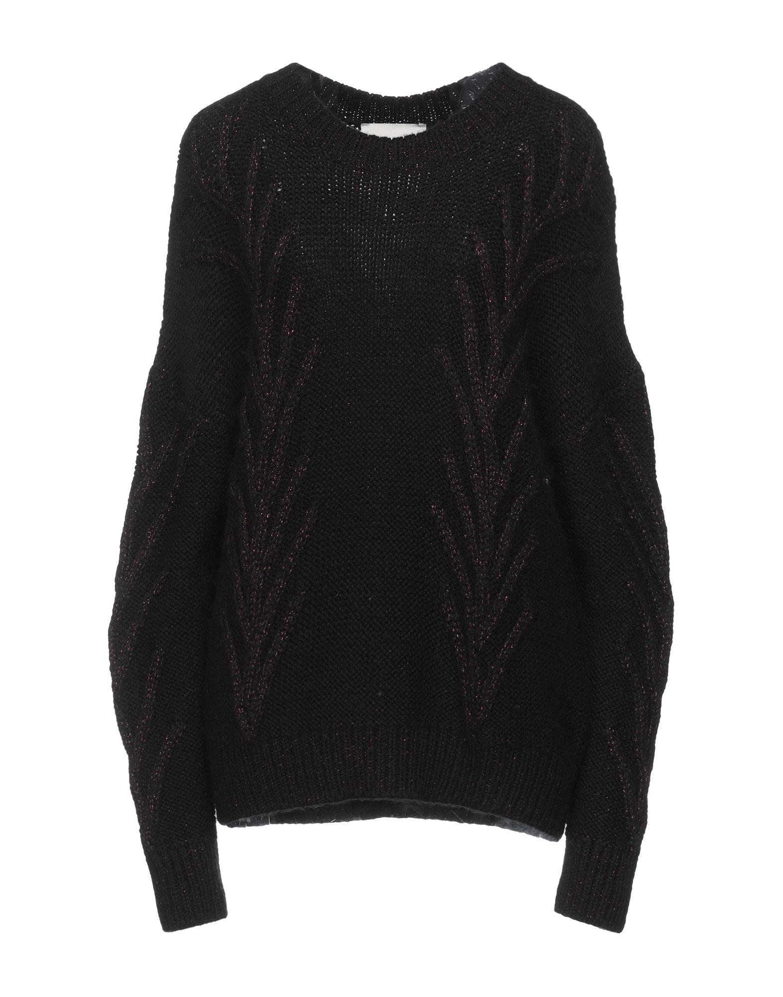 Marco De Vincenzo Sweaters In Black
