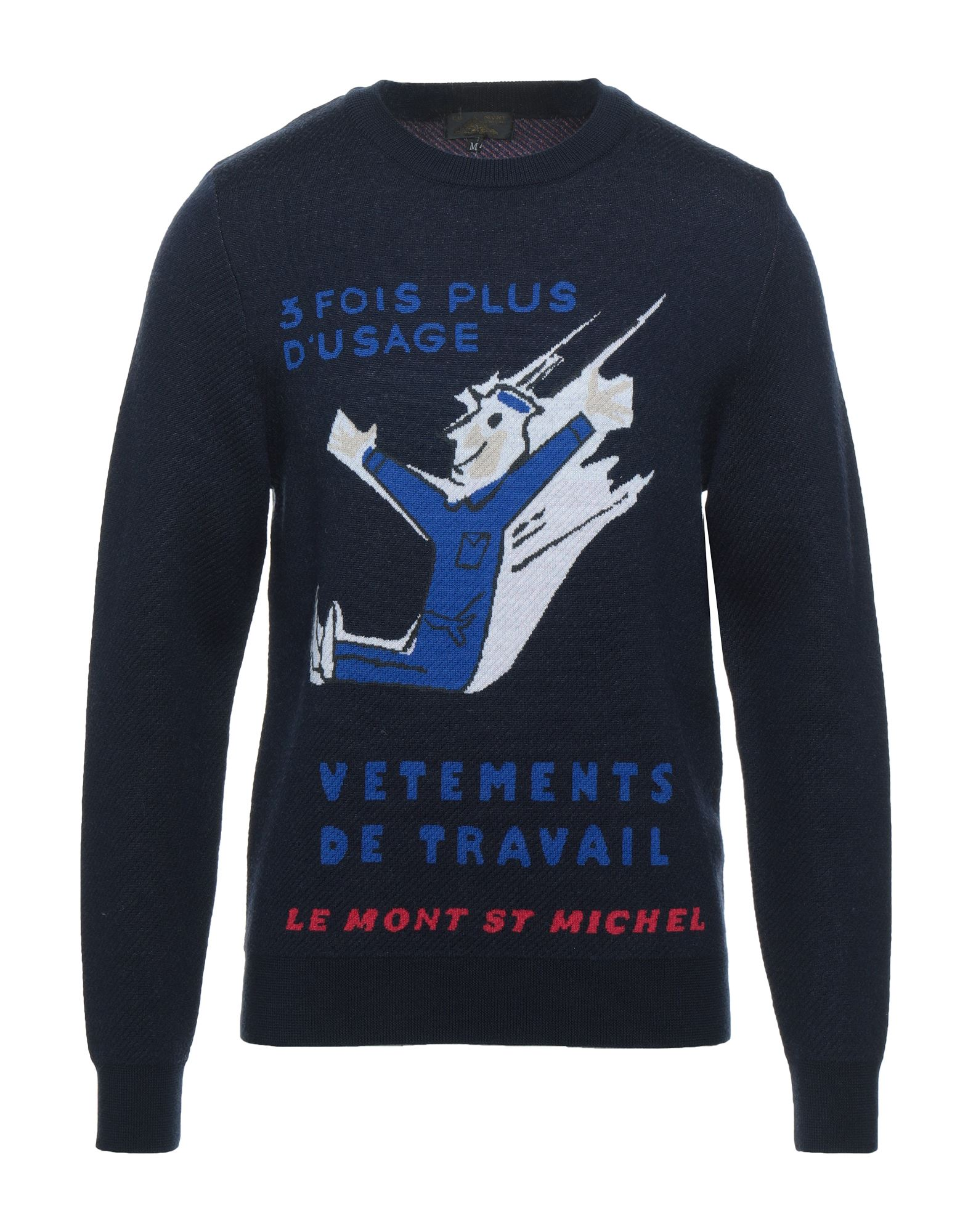 Le Mont St Michel Sweaters In Dark Blue