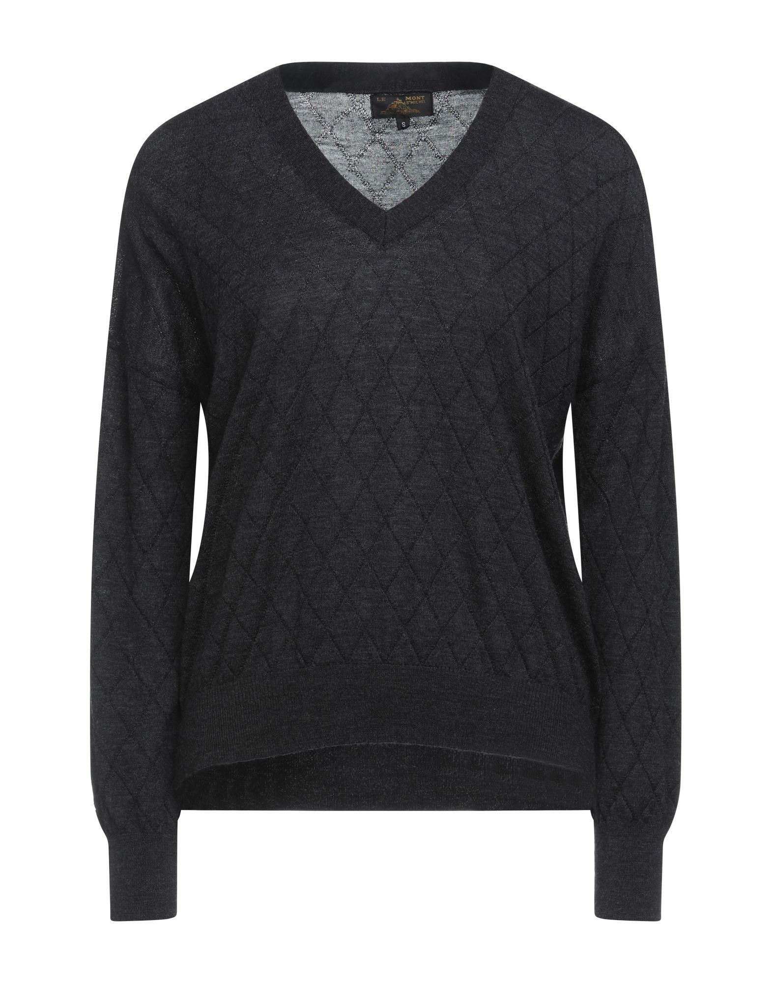 Le Mont St Michel Sweaters In Steel Grey