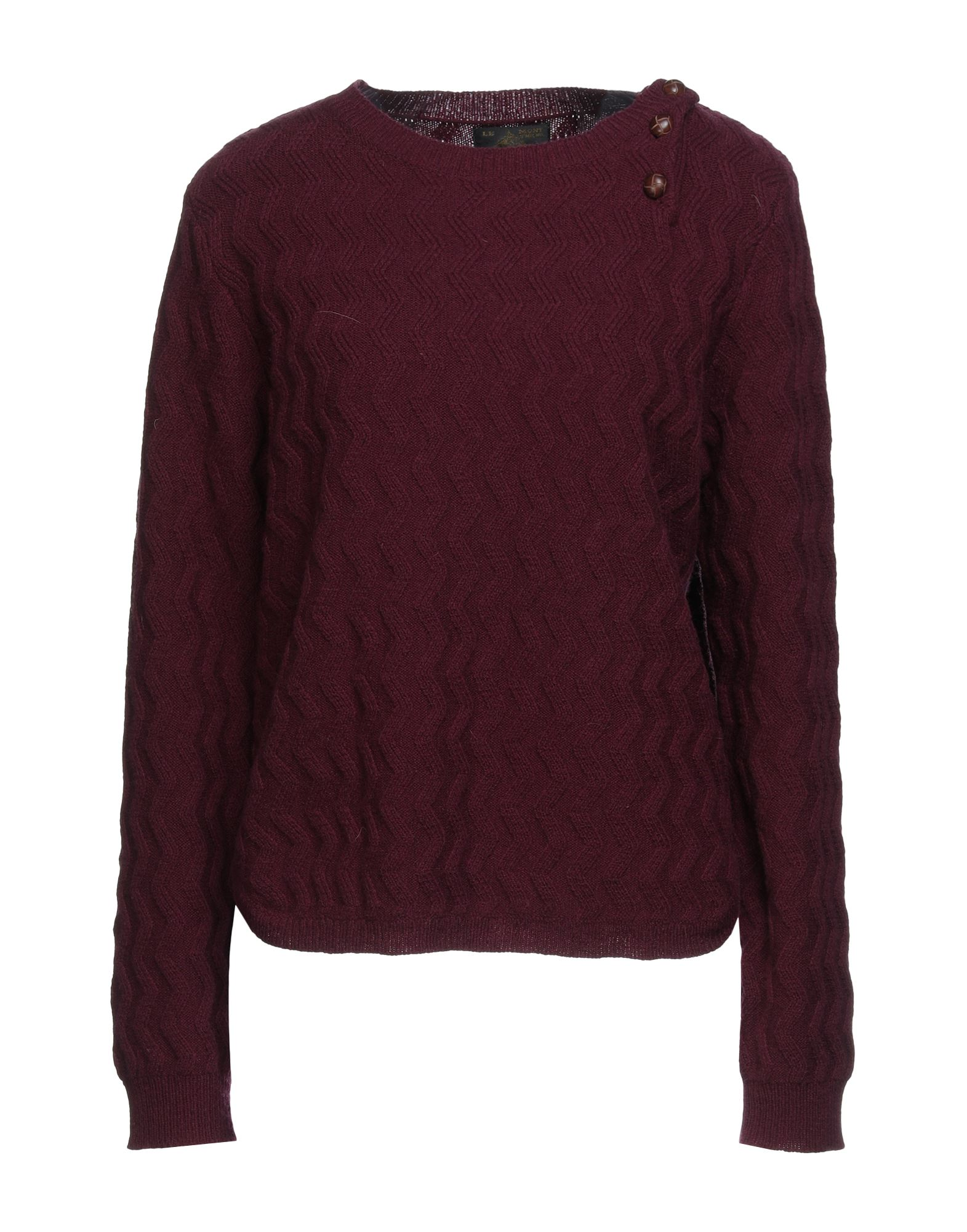Le Mont St Michel Sweaters In Deep Purple