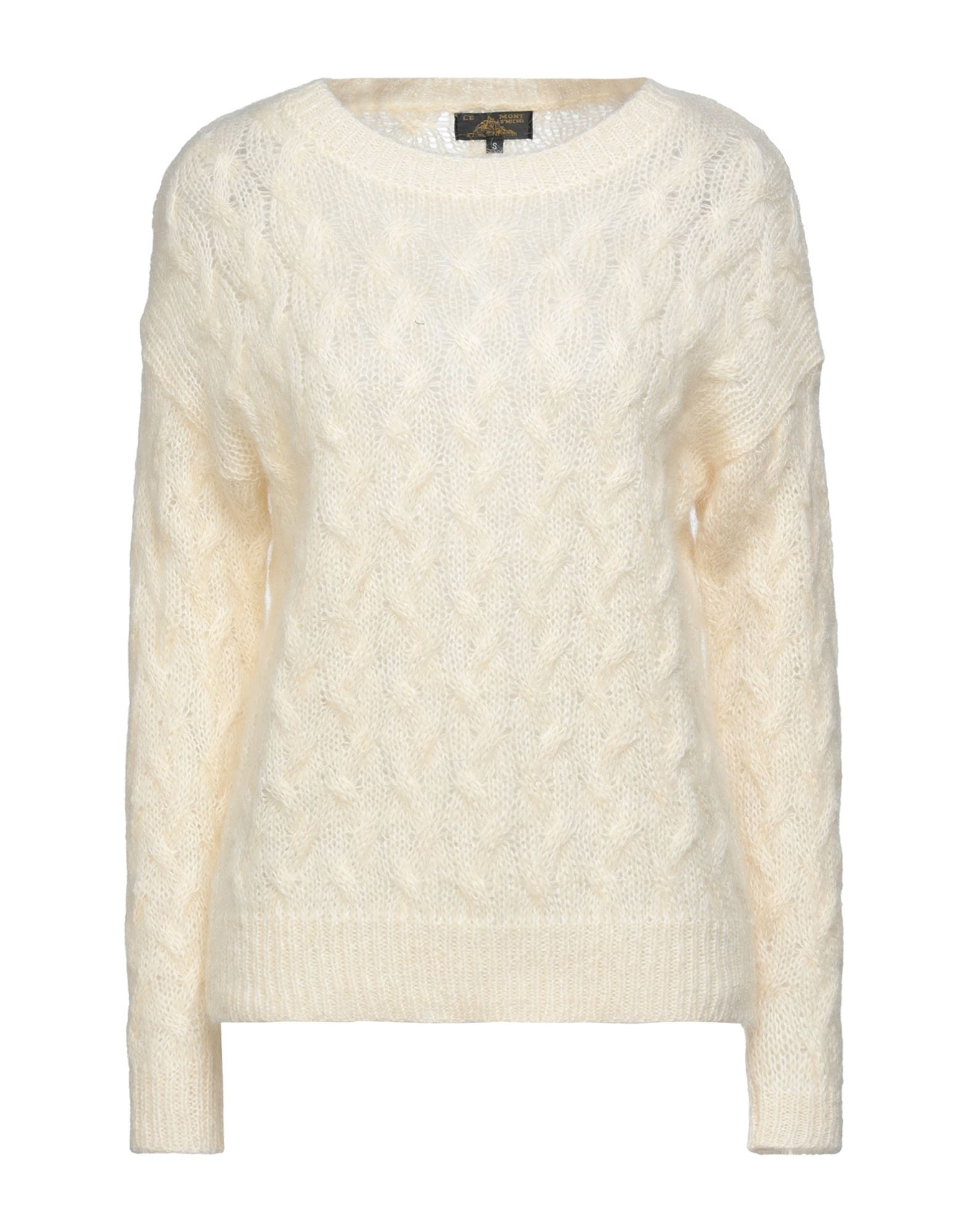 Le Mont St Michel Sweaters In Ivory