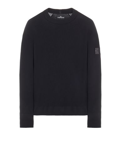 STONE ISLAND SHADOW PROJECT 505A1 STRETCH WOOL_CHAPTER 1 Sweater Man Black EUR 439