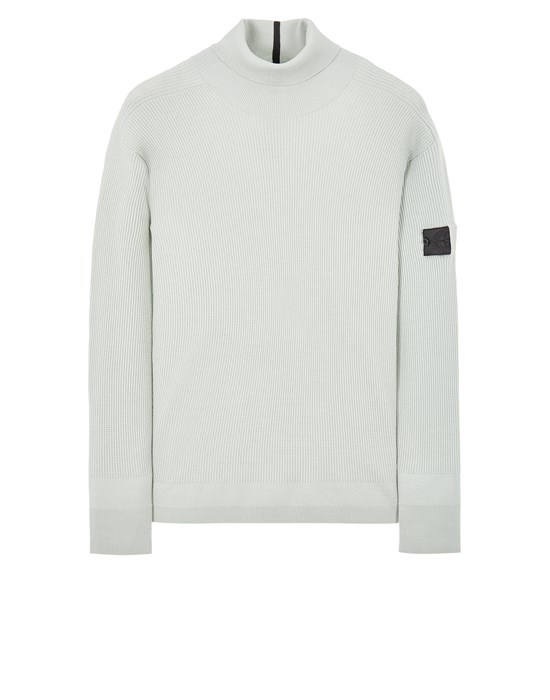 STONE ISLAND SHADOW PROJECT 506A1 STRETCH WOOL_CHAPTER 1 Sweater Man Light Green