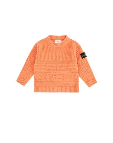 STONE ISLAND JUNIOR 505D2 Sweater Man Rust EUR 215