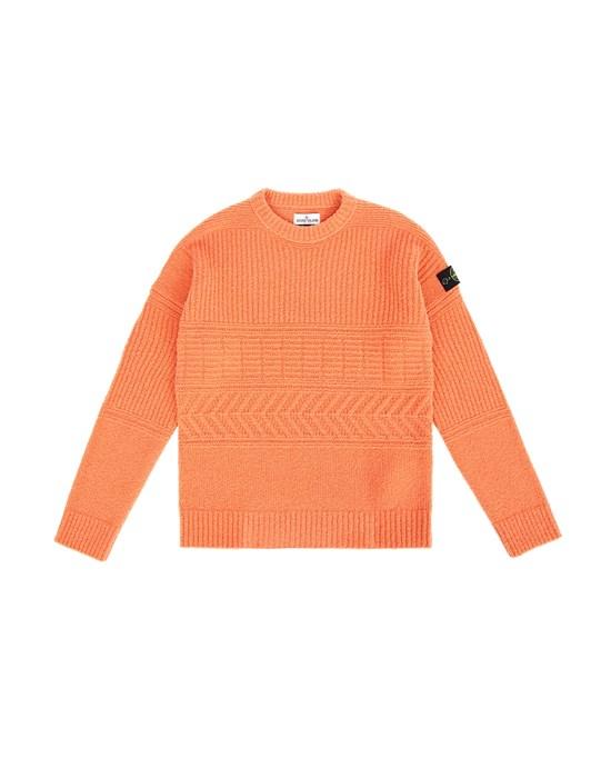Sweater Man 505D2 Front STONE ISLAND TEEN