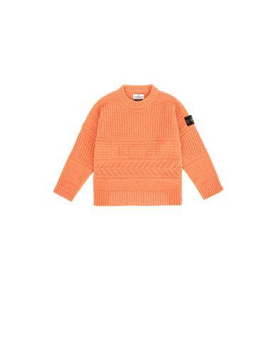 STONE ISLAND KIDS 505D2 Sweater Man Rust EUR 225