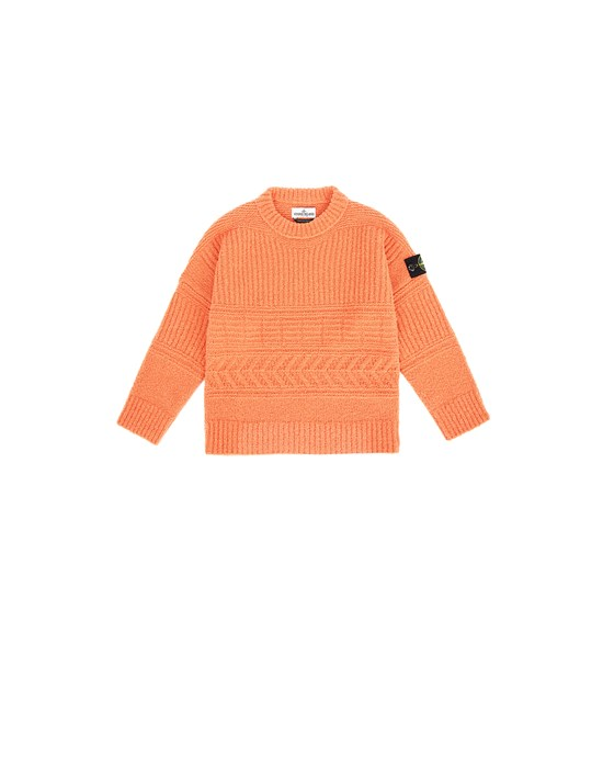 STONE ISLAND JUNIOR 505D2 Sweater Man Rust