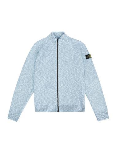 STONE ISLAND TEEN 519D3 Sweater Man Sky blue EUR 229
