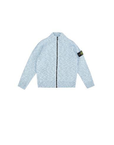 STONE ISLAND KIDS 519D3 Sweater Man Sky blue EUR 195