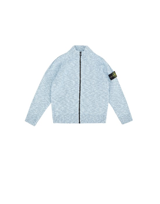 STONE ISLAND JUNIOR 519D3 Sweater Man Sky blue