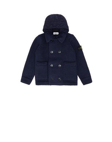 STONE ISLAND KIDS 501A1 Sweater Man Marine Blue USD 862