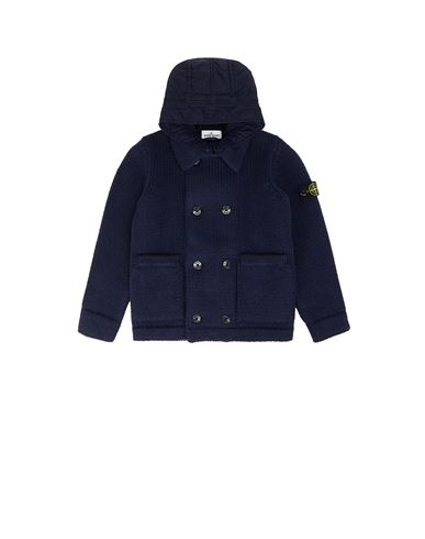 STONE ISLAND JUNIOR 501A1 Sweater Man Marine Blue EUR 655
