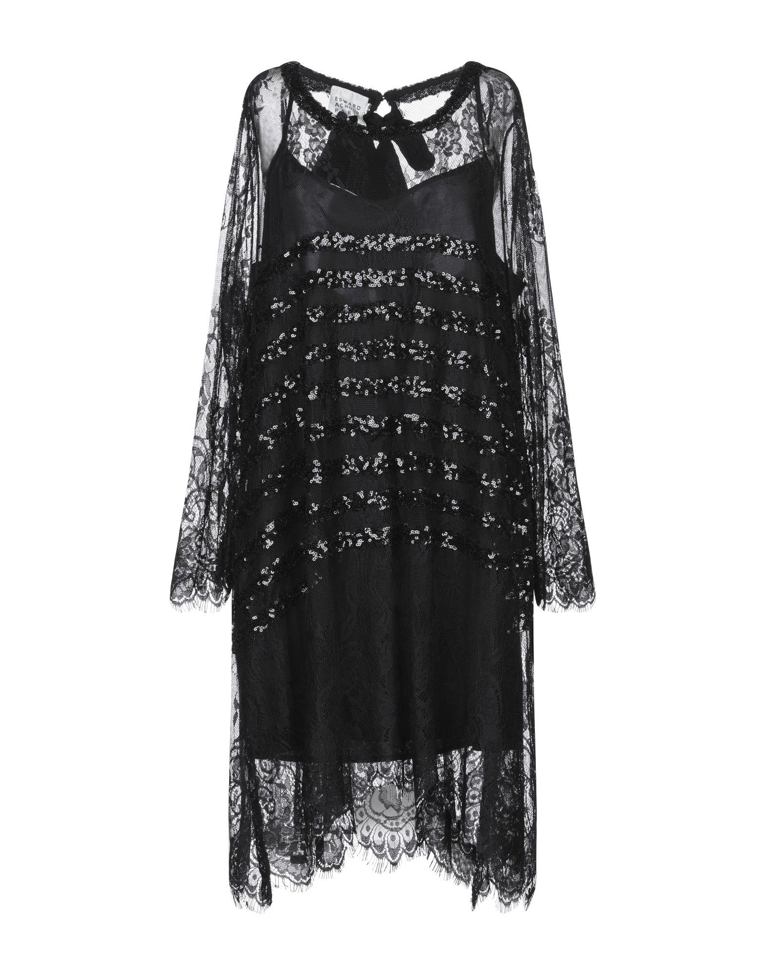 EDWARD ACHOUR Короткое платье кардиган edward achour