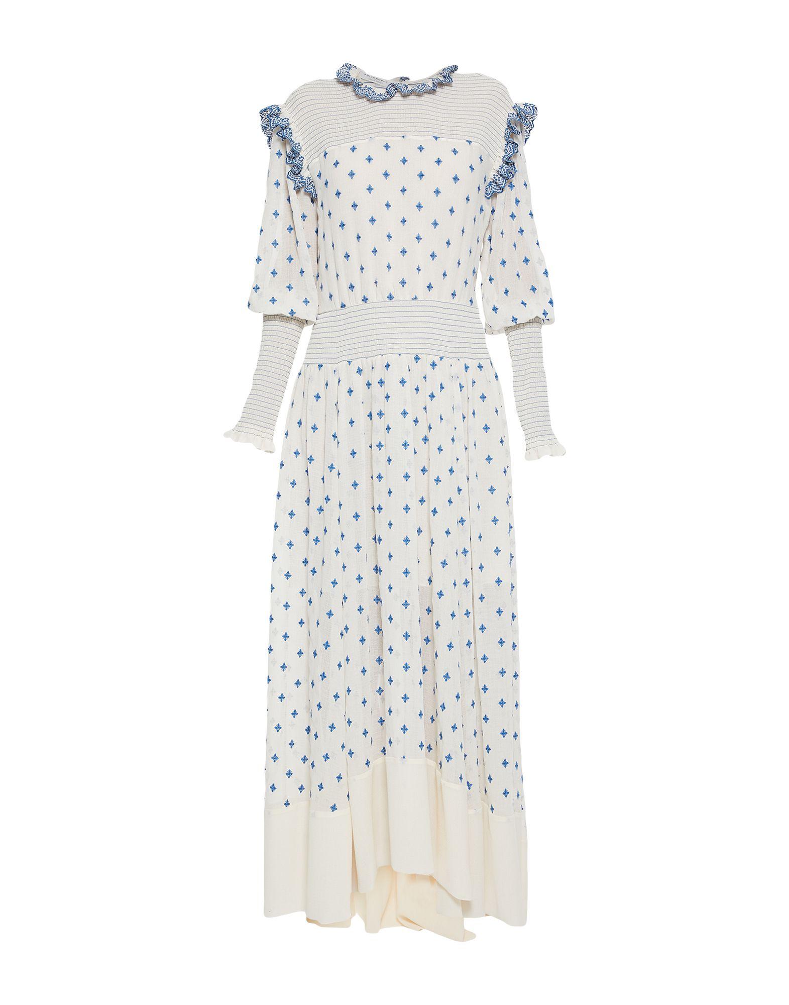 Фото - PHILOSOPHY di LORENZO SERAFINI Длинное платье джемпер philosophy di lorenzo serafini размер 116 кремовый