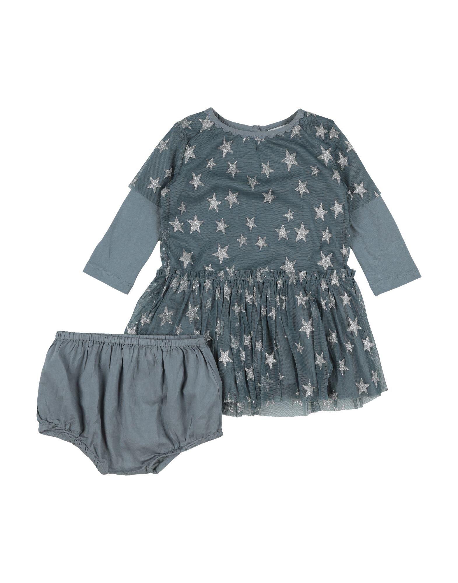 《セール開催中》STELLA McCARTNEY KIDS ガールズ 0-24 ヶ月 ワンピース・ドレス ディープジェード 12 ポリエステル 100% / コットン