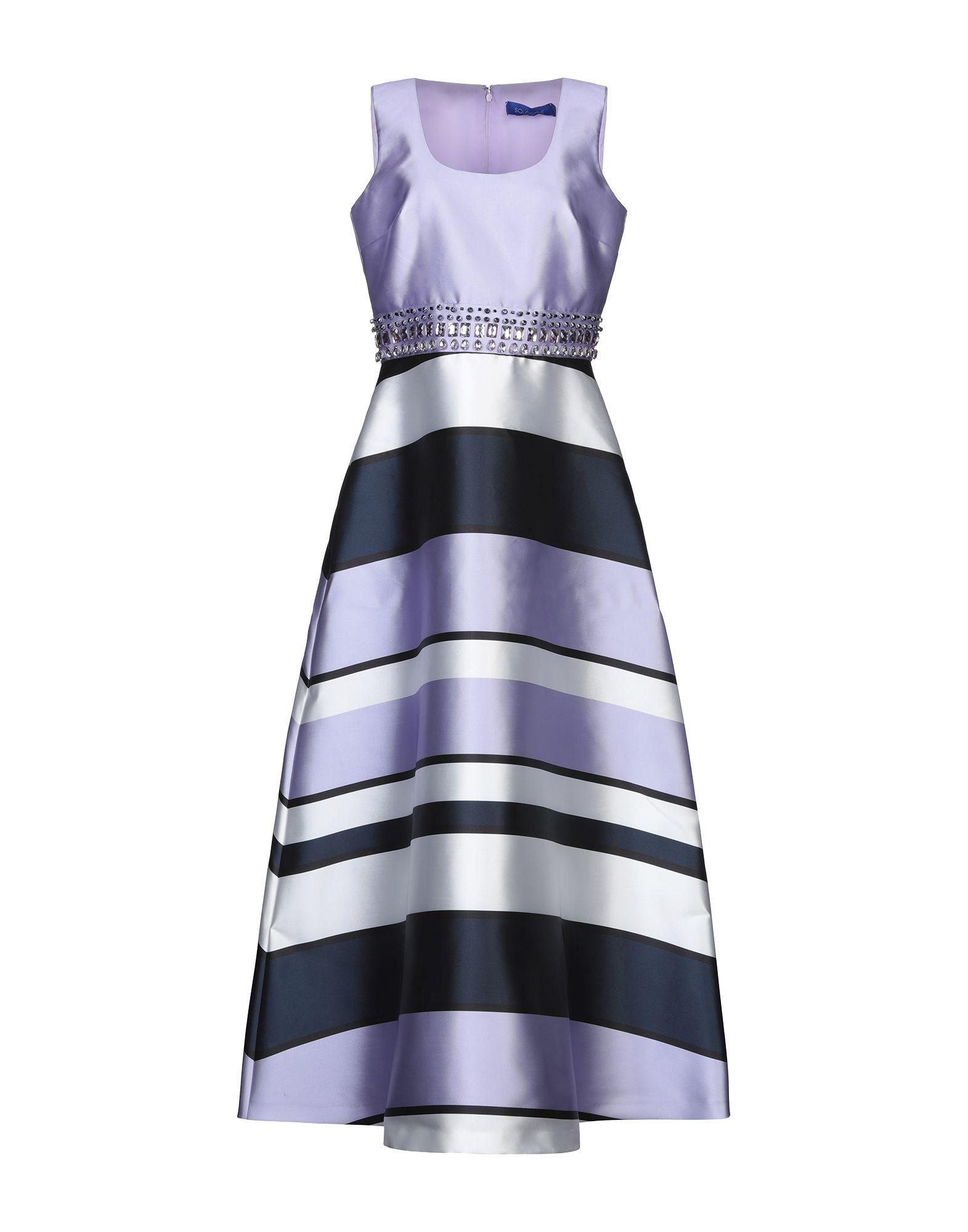 SOLOGIOIE Длинное платье