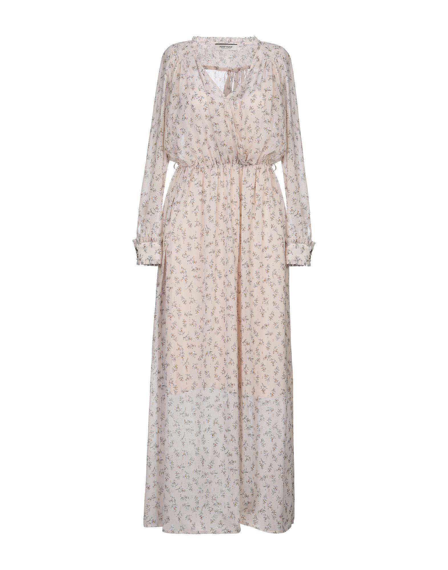 цена NAF NAF Длинное платье онлайн в 2017 году