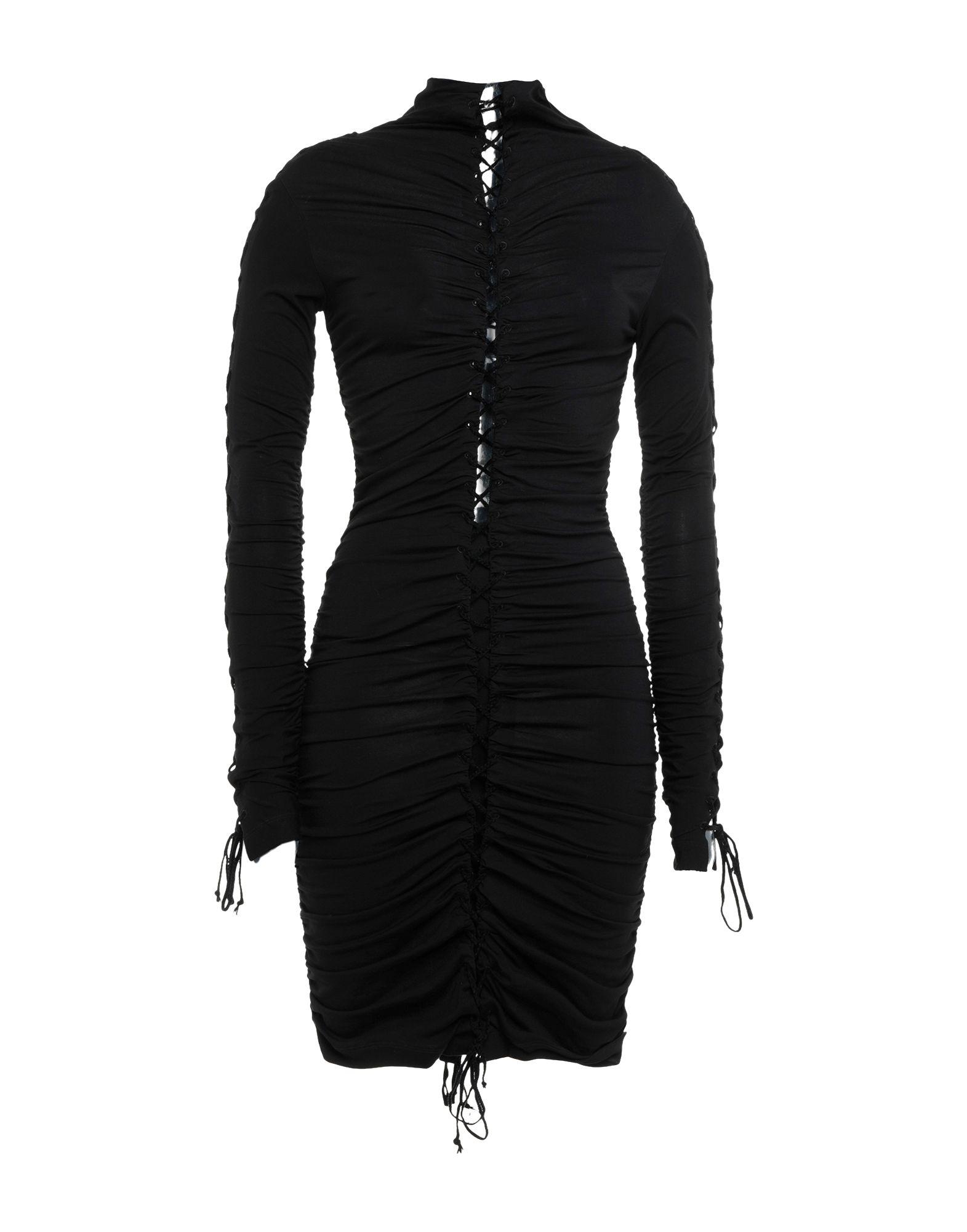 цена BEN TAVERNITI™ UNRAVEL PROJECT Короткое платье онлайн в 2017 году