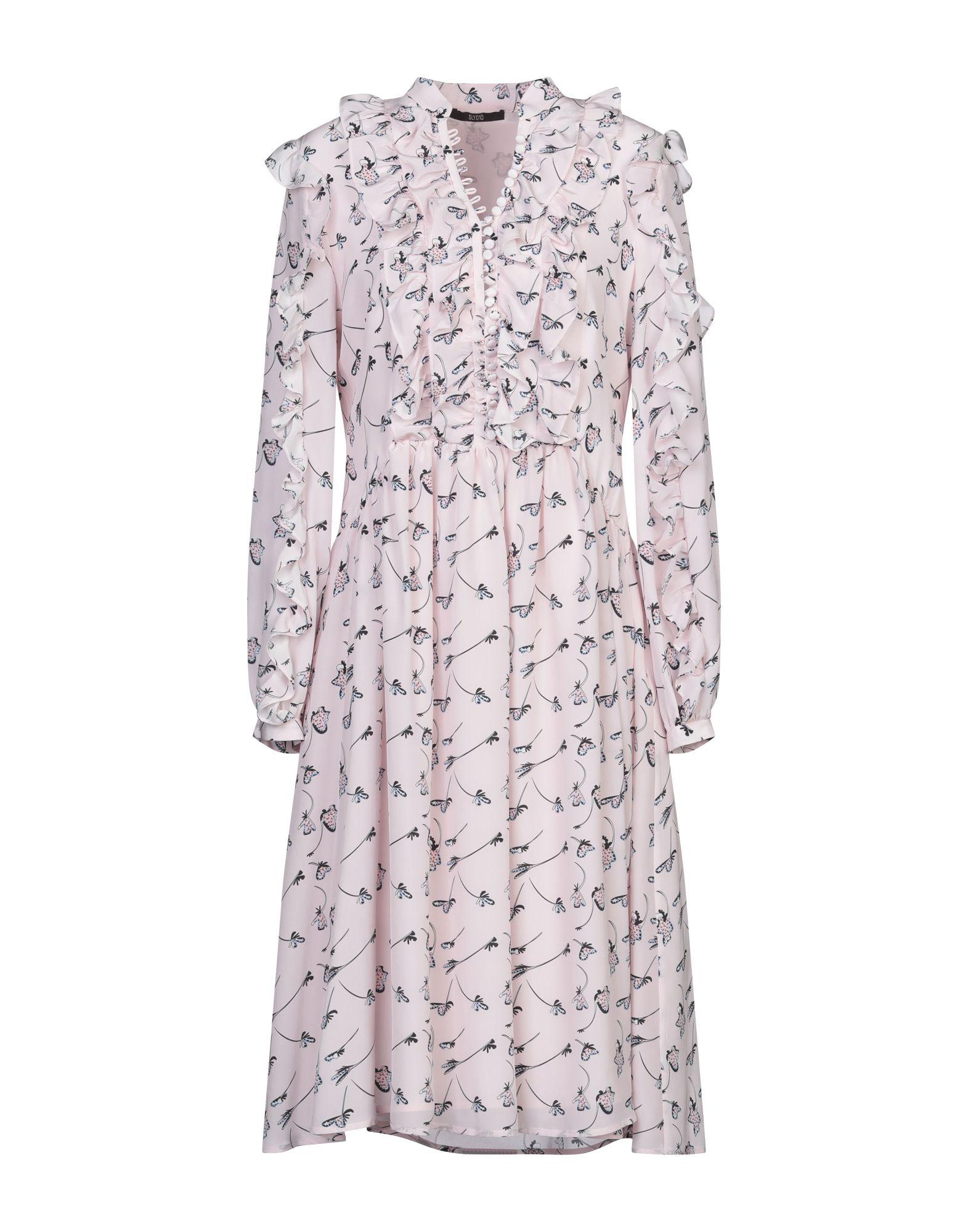 SLY010 Платье до колена