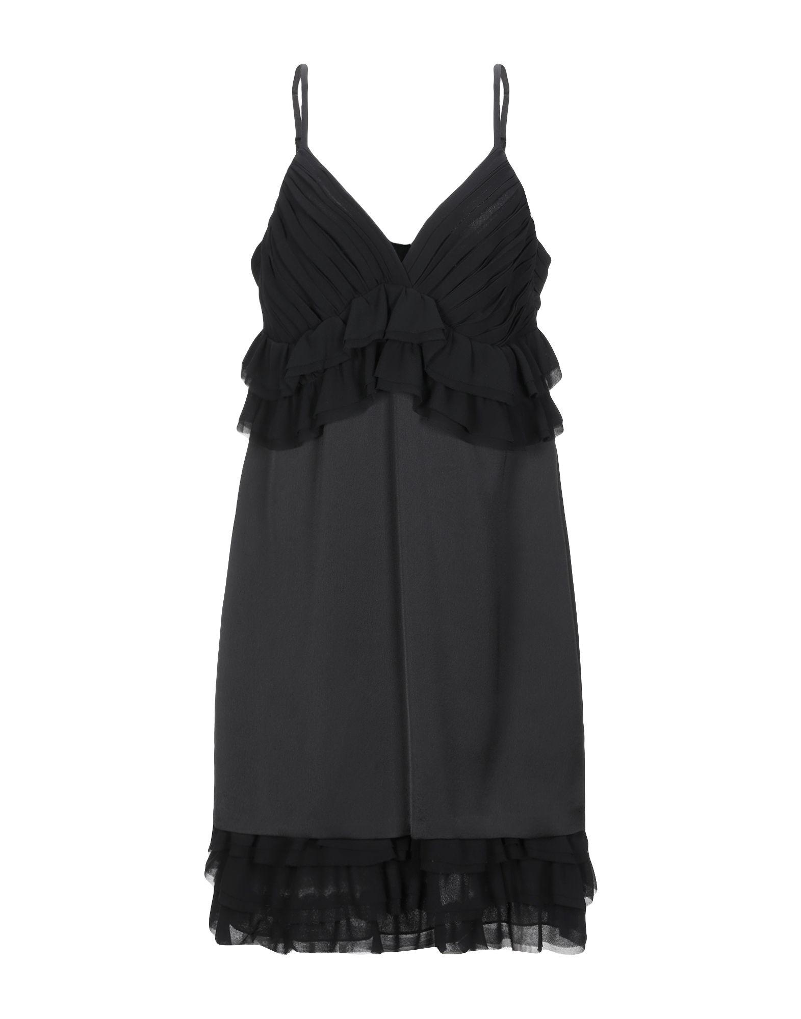 LE COEUR TWINSET Короткое платье сарафан женский ксавин