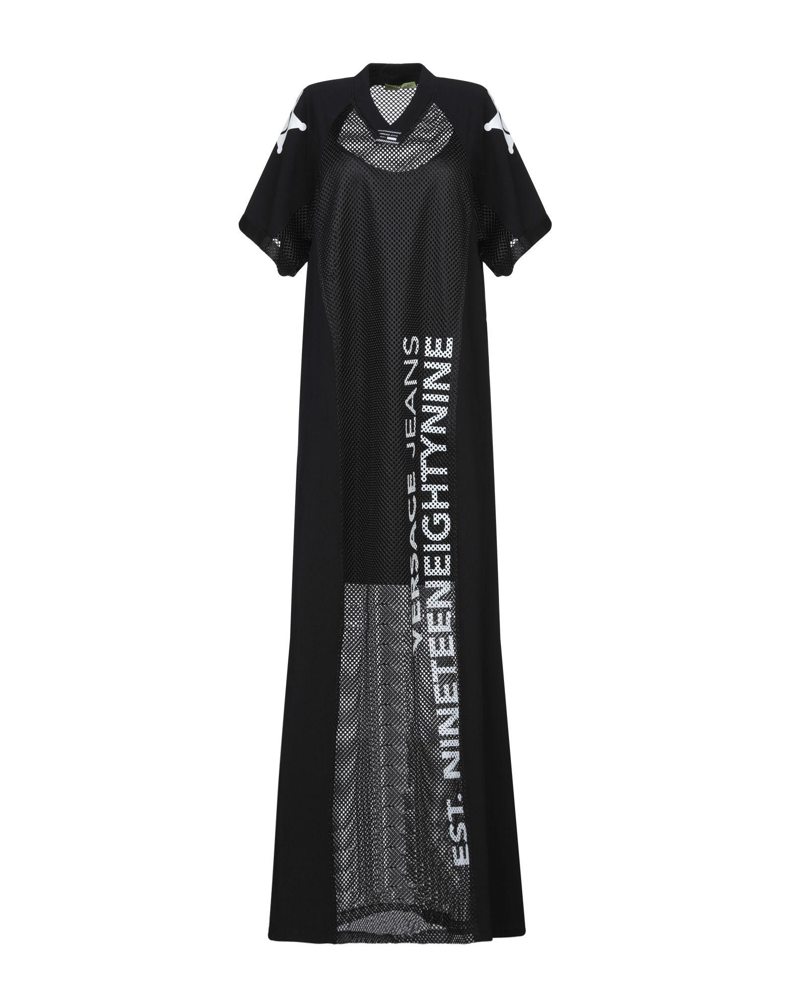 VERSACE JEANS Длинное платье