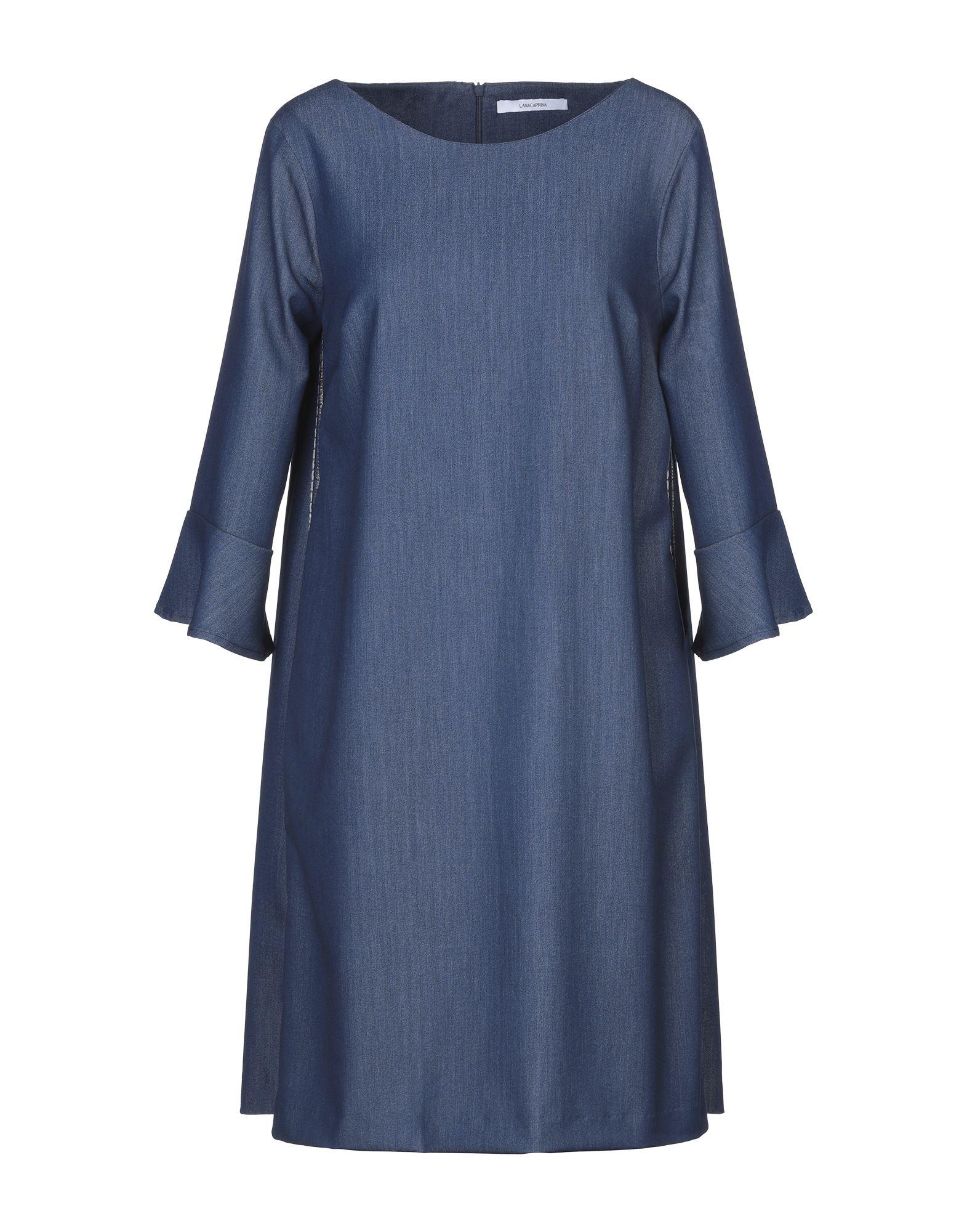 цена LANACAPRINA Короткое платье онлайн в 2017 году