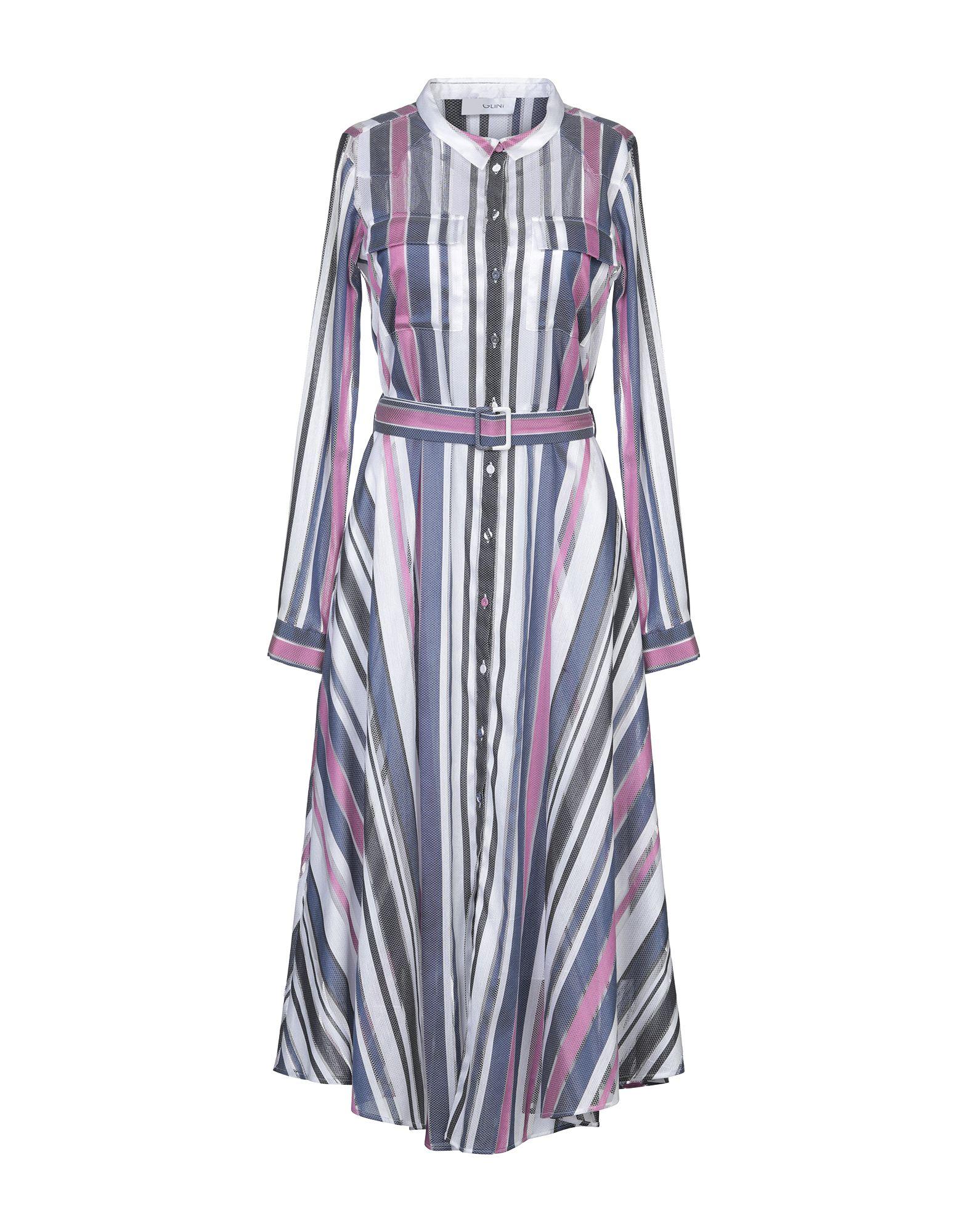 AGLINI Платье длиной 3/4 aglini ремень