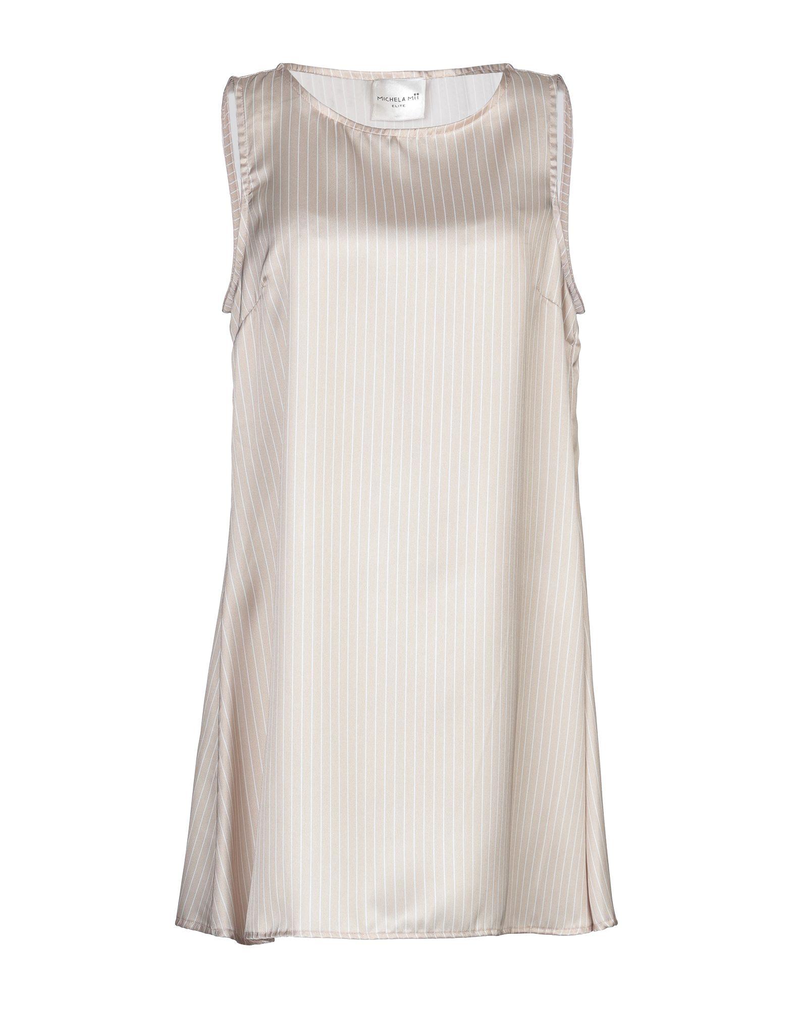 MICHELA MII Короткое платье michela mii комбинезоны без бретелей