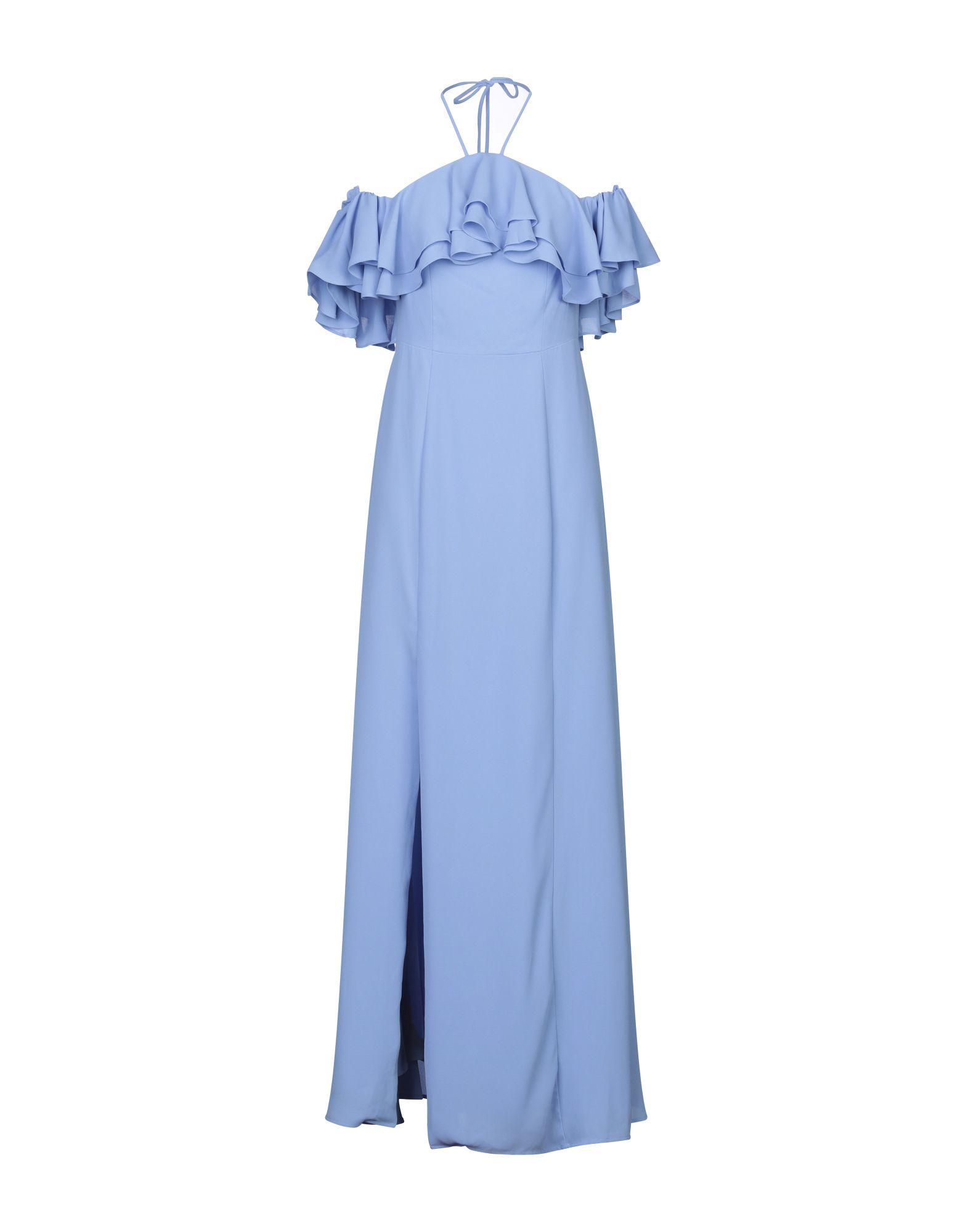 《セール開催中》BY MALINA レディース ロングワンピース&ドレス アジュールブルー XS ポリエステル 100%