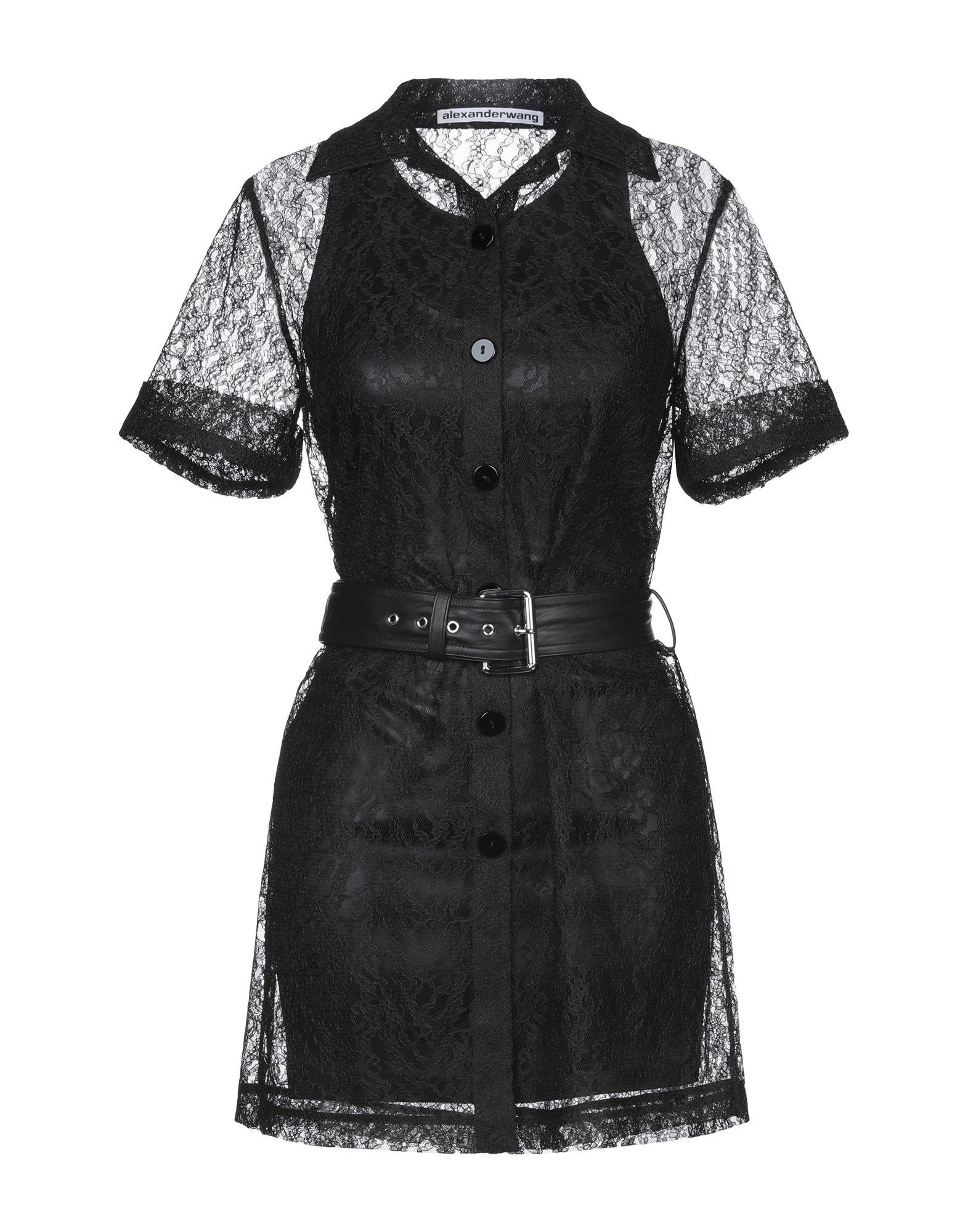 ALEXANDER WANG Короткое платье ремень alexander tsiselsky alexander tsiselsky mp002xm0ydly