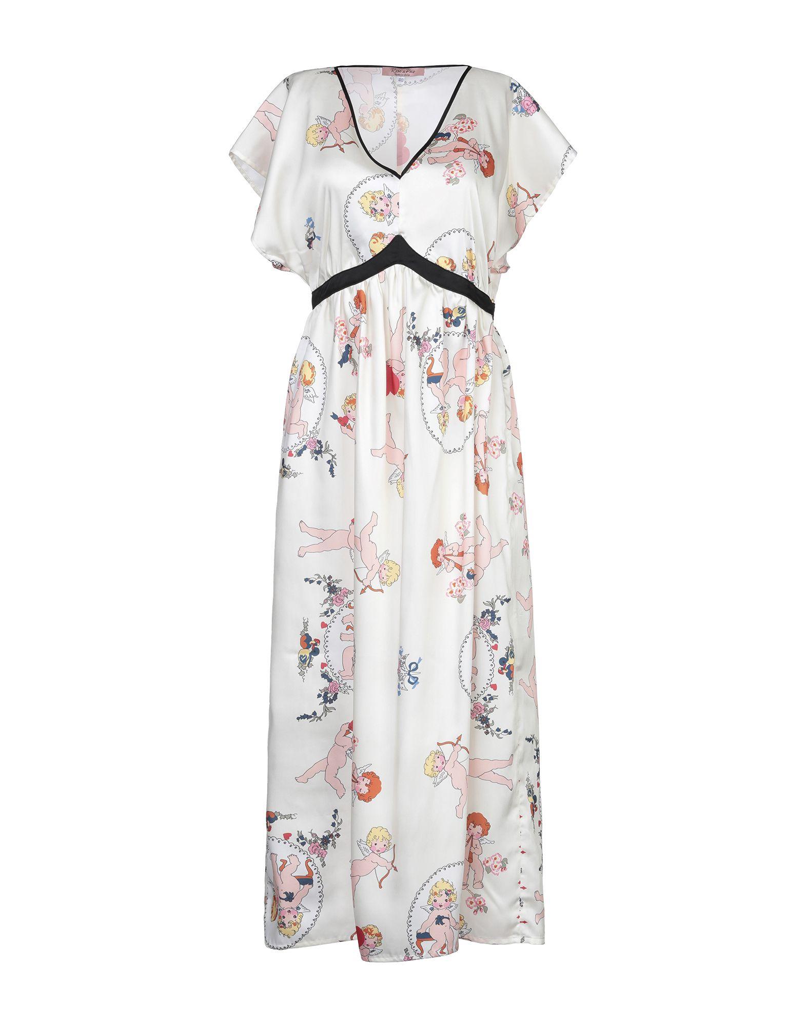 ROSE' A POIS Длинное платье