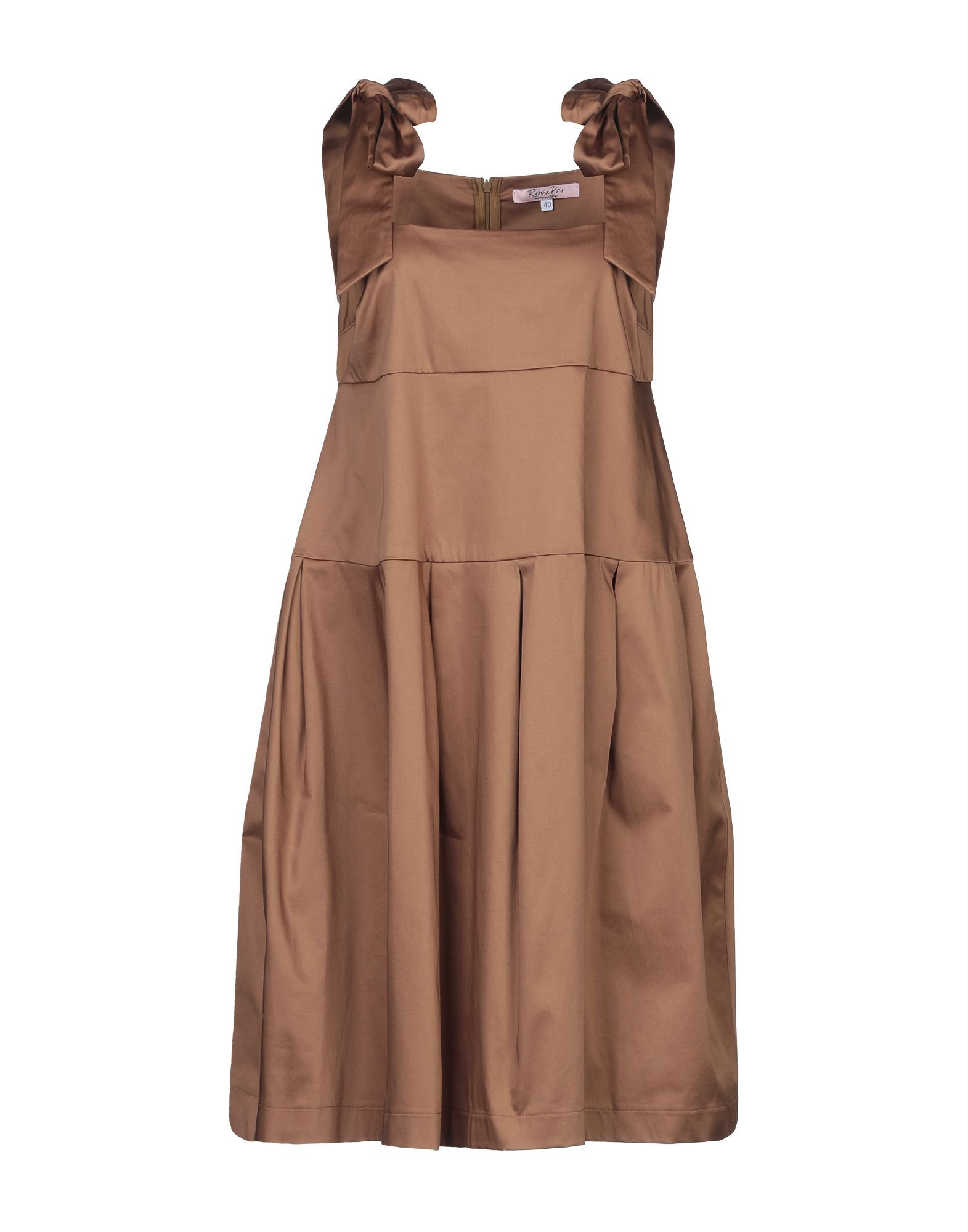 ROSE' A POIS Платье до колена комплект фототюля тамитекс инстинкт