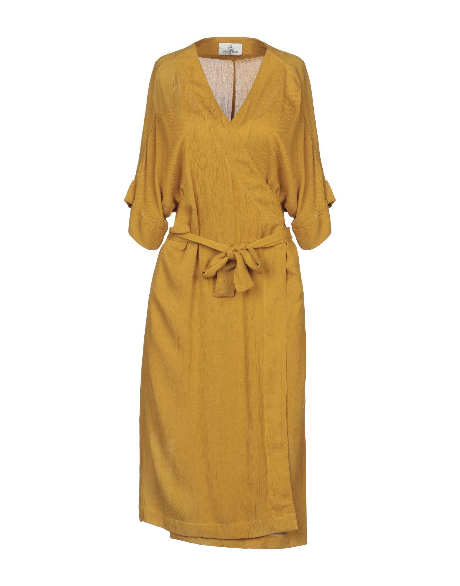 STELLA FOREST Короткое платье stella forest легкое пальто