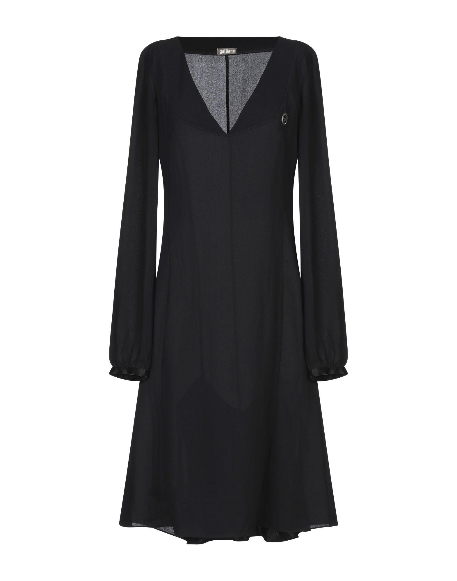 GALLIANO Платье до колена