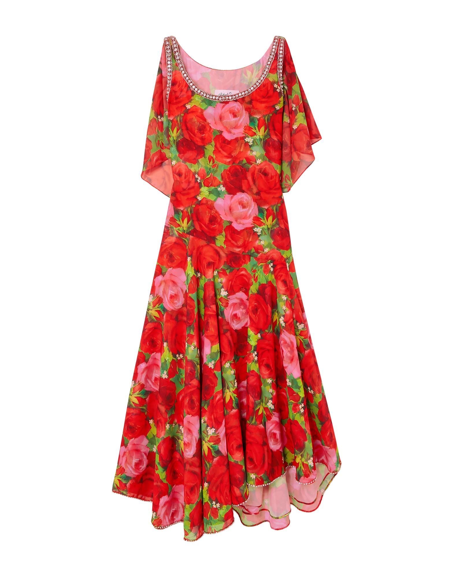 RICHARD QUINN Длинное платье