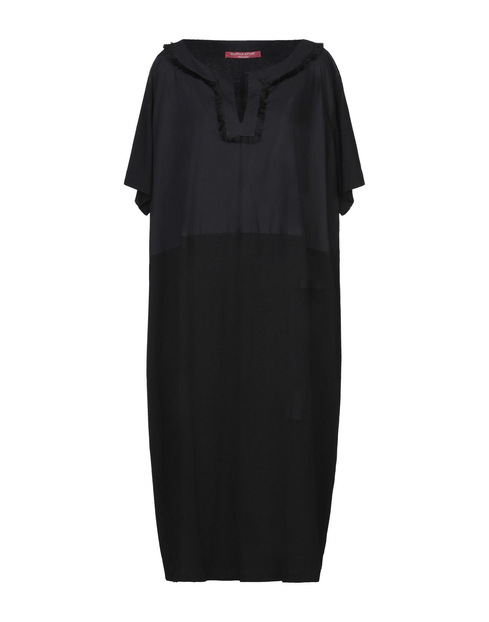 цена MARINA SPORT by MARINA RINALDI Платье до колена онлайн в 2017 году