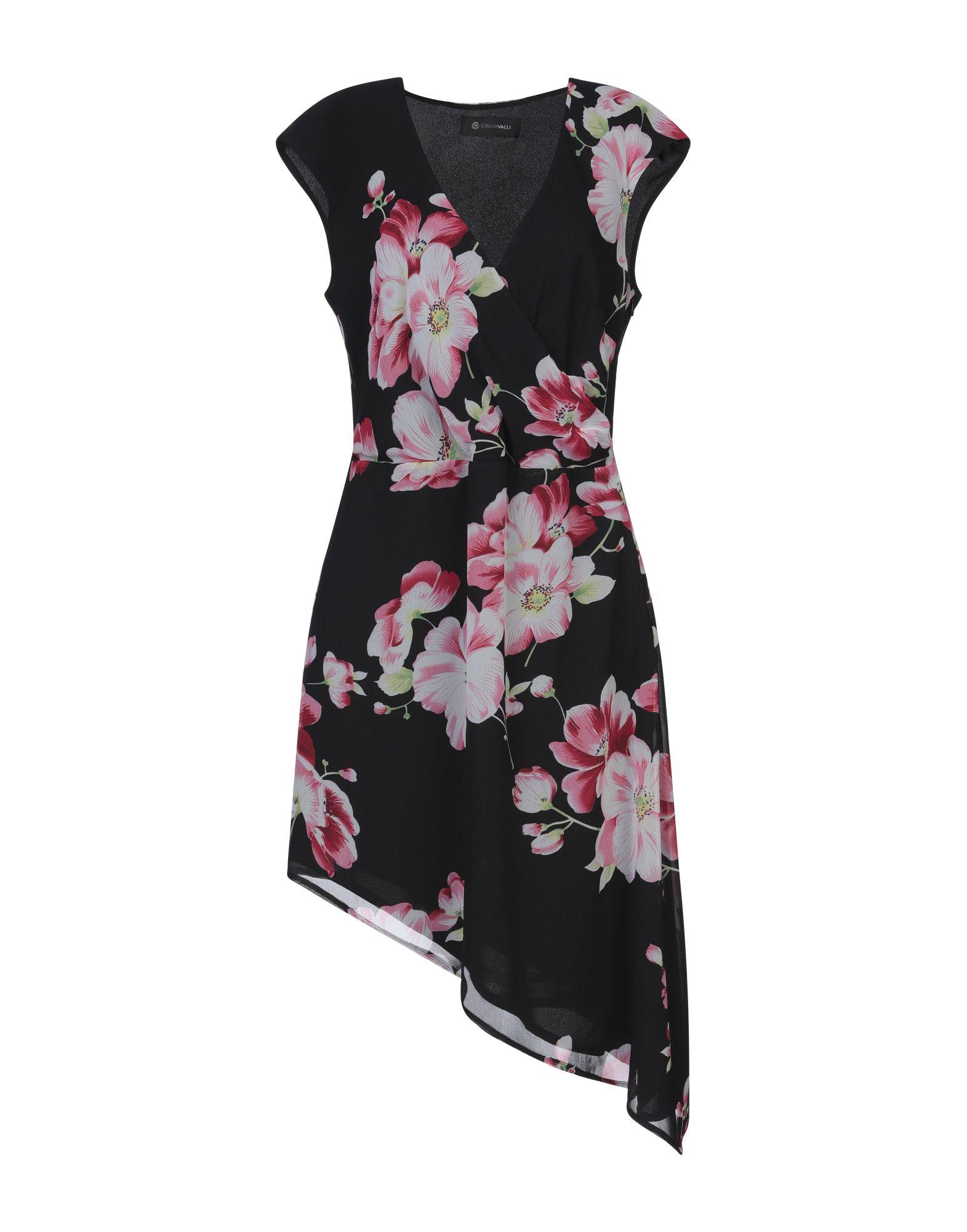 GIULIA VALLI Короткое платье платье giulia rossi giulia rossi mp002xw0epfy