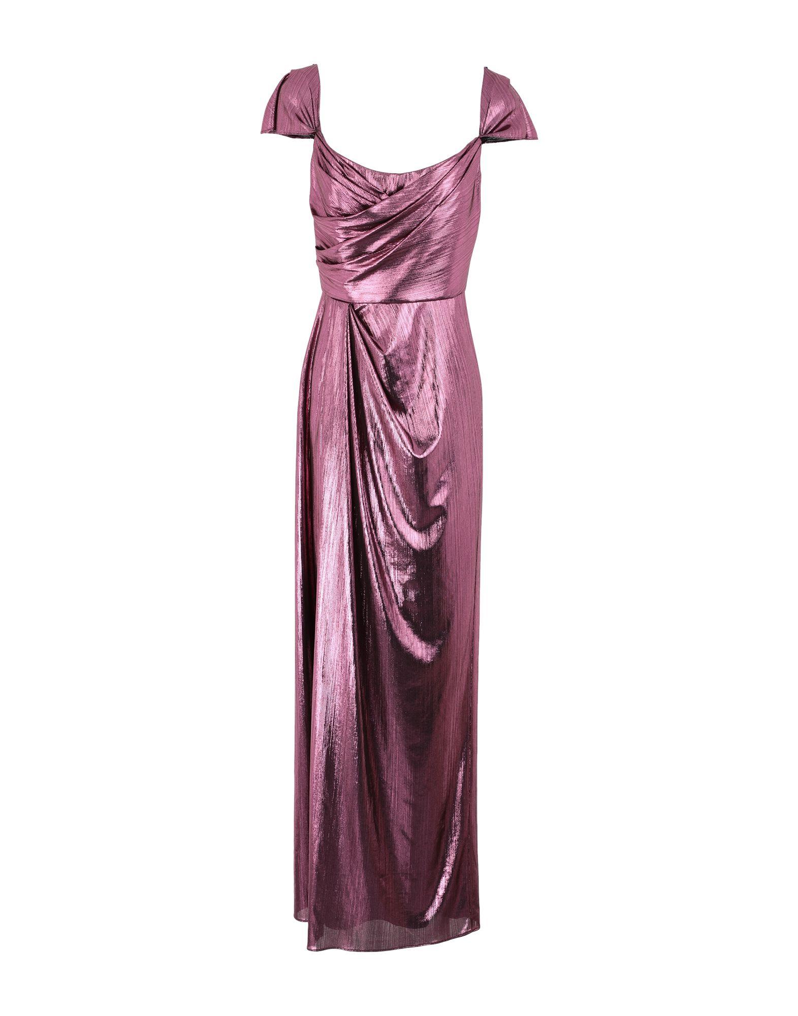 《セール開催中》MARCHESA NOTTE レディース ロングワンピース&ドレス ガーネット 6 ポリエステル 97% / ポリウレタン 3%