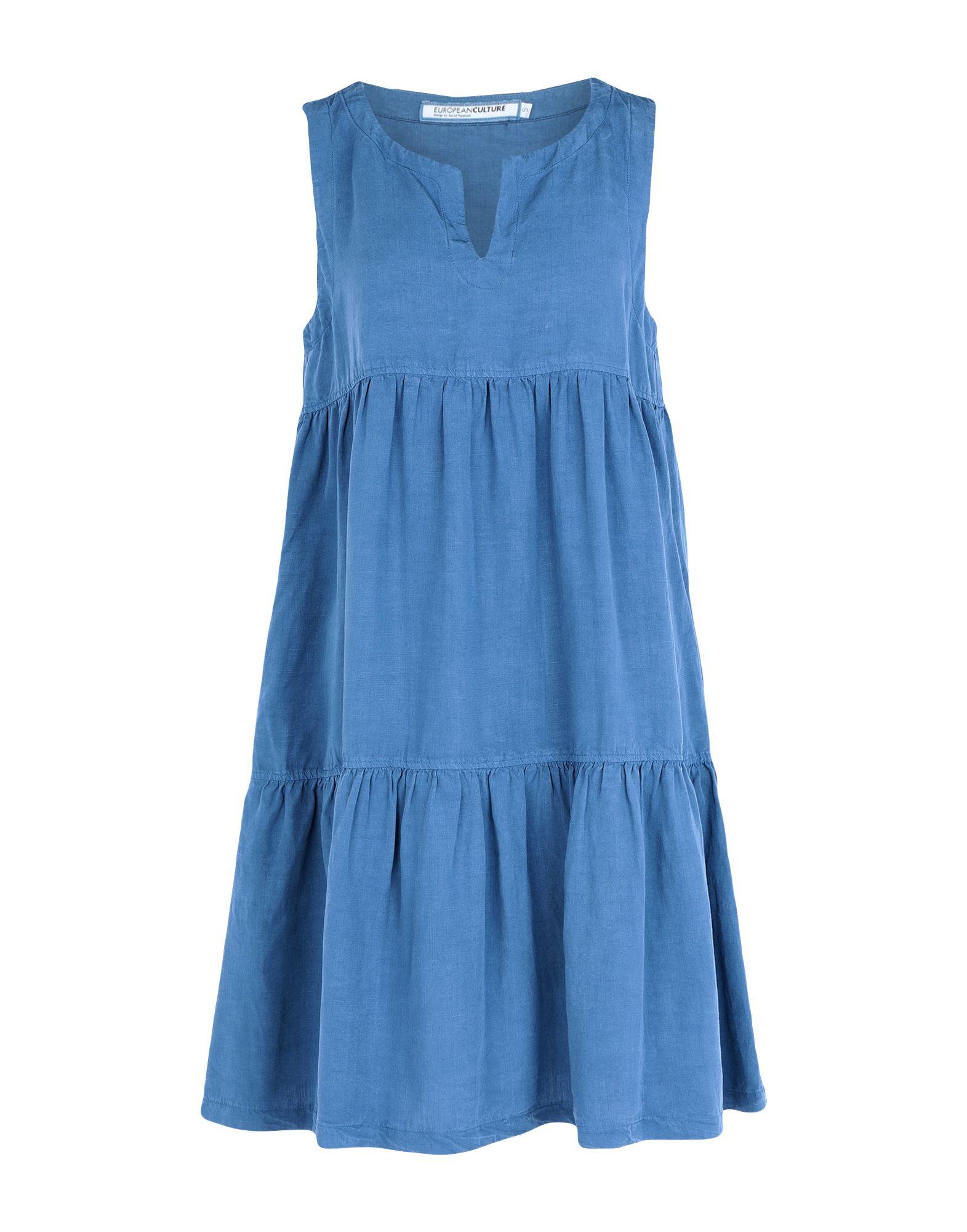 EUROPEAN CULTURE Короткое платье european culture топ без рукавов